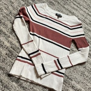 Express Ribbed Sweater Size Small
